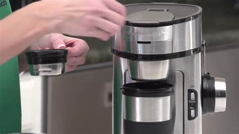 Genuine hamilton beach single serve reusable filter designed to work with specific coffee makers. Hamilton Beach 2-Way Brewer Coffee Maker, Single-Serve and 12-Cup Pot, Stainless Steel (49980A ...