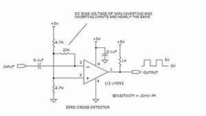 Wide Band Zero Cross Detectors