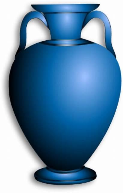 Clipart Vase Amphora Clip Vases Cliparts Transparent