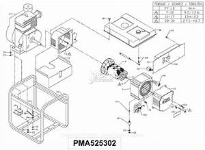 Powermate Formerly Coleman Pma525302 Parts Diagram For