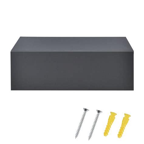 lade a parete 2x mensola con cassetto pensile scaffale parete
