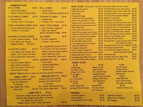 sushi garden menu photos for sushi garden menu yelp