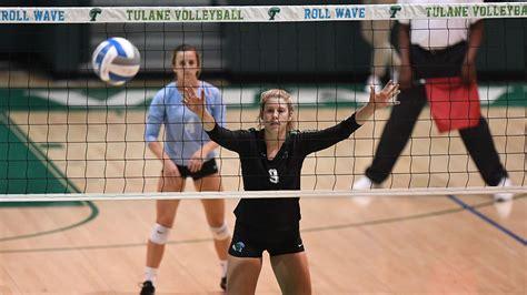 lexie douglas womens volleyball tulane university