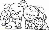 Coloring Pages Preschoolers Printable Glacier Cartoon Dogs Dinner Getcolorings Peppa Pig Preschool Getdrawings Drawing Colorings sketch template