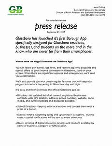 wanna know the happ get the new glassboro app official With app press release template