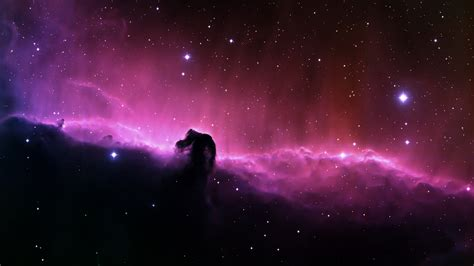 Purple Nebula Space Desktop Hd Wallpaper
