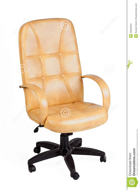 yellow office chair stock image cartoondealer 19776277