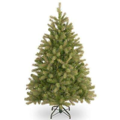 3ft everyday collections potted feel real artificial christmas tree 5 5 ft and artificial trees trees the home depot