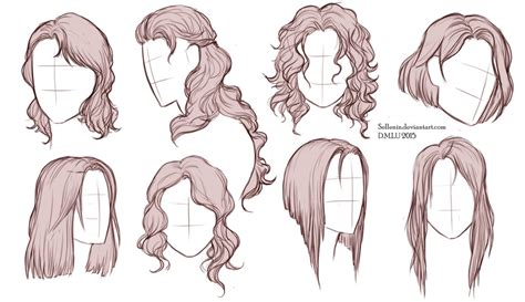 hairstyles  sellenin  deviantart