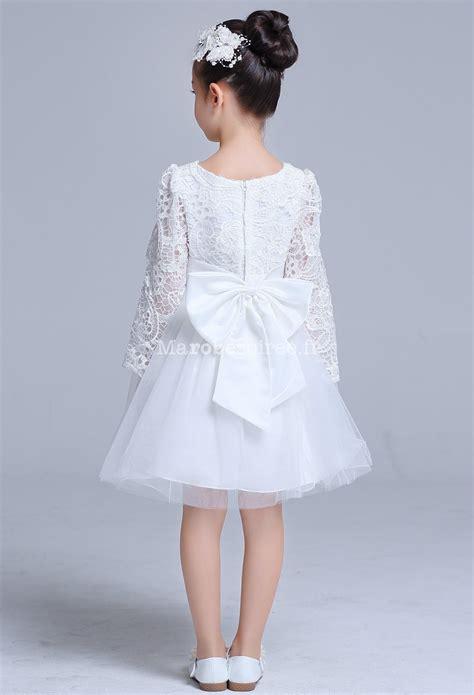 robe blanche enfant robe blanche b 233 b 233 fille pour bapt 234 me