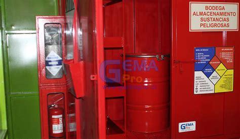 bodega almacenamiento sustancias peligrosas bsp2 rfc