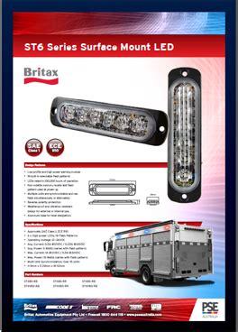 interfire emergency vehicle warning lights code3 britax