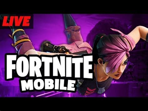 fortnite mobile battle royale beta gameplay  youtube