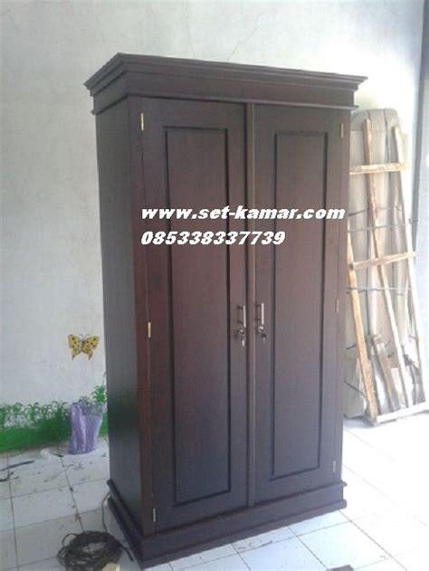 lemari pakaian  pintu  lemari baju minimalis kayu