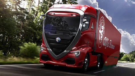 alfa romeo truck  beautify  commercial segment