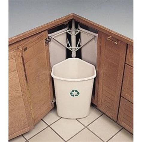 kitchen garbage cans in cabinet 6 functional options of trash cans for your kitchen 8105