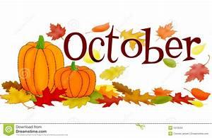 October Birthday Clipart