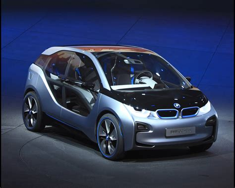 bmw i8 electric range bmw i3 electric with range extender and i8 in hybrid drive concepts 2011