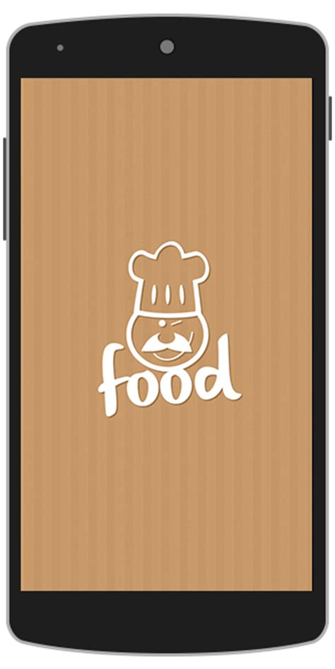 application android cuisine food android app template