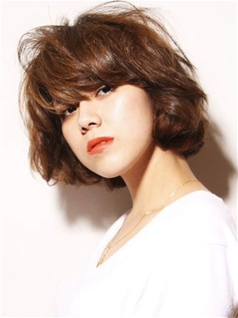 curly japanese hairstyle  thick hair hairstyles weekly