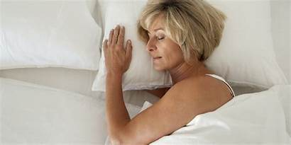 Bed Woman Older Alone Husband Spouse