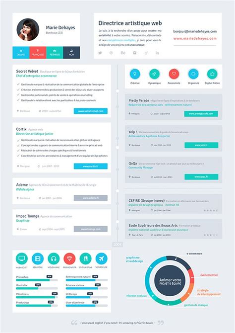 Flat Design Resume by Flat Resume Template 31 Free Sles Exles Format Free Premium Templates