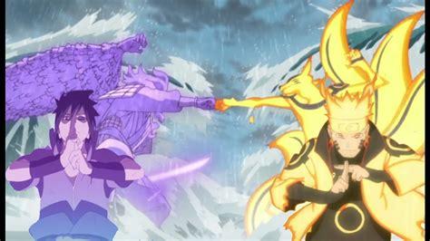 Naruto Vs Sasuke Boss Battle