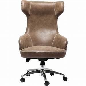 Fauteuil De Bureau Design : chaise de bureau au confort d 39 un fauteuil miami kare design ~ Teatrodelosmanantiales.com Idées de Décoration