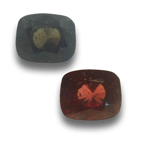 color changing gemstones unheated colour changing garnet gemstone