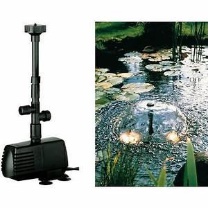 Fontaine Pour Bassin A Poisson : guide comment choisir sa pompe pour bassin ~ Voncanada.com Idées de Décoration
