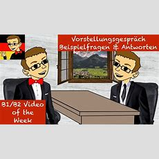 Intermediate German #43 Job Interview Questions & Answers Youtube