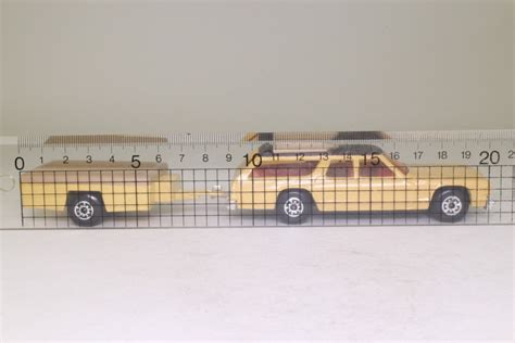 black king size matchbox king size k 68 1 dodge monaco and trailer