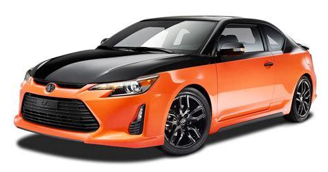 Sport Cars Png by Orange And Black Scion Tc Sports Car Png Image Pngpix