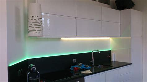 led cuisine éclairage cuisine led