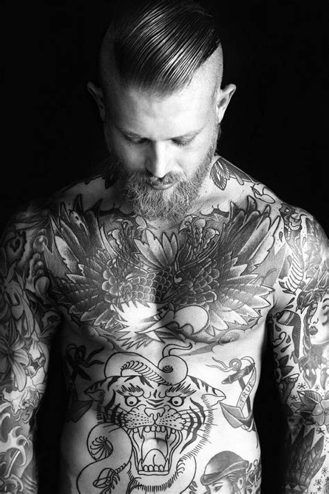 Awesome Chest Tattoo Ideas For Men - Stylendesigns