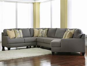 signature design by ashley chamberly alloy modern 4 With 4 piece sectional with sofa bed