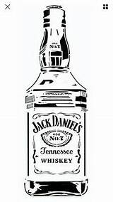 Jack Daniels Svg Stencil A3 Daniel Whiskey Cricut Silhouette Pochoir Uniquement Only sketch template