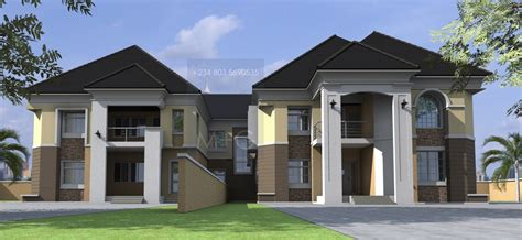 House Plans Design Nigerian Architectural Home Designs