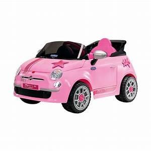 Fiat 500 Vente : voiture lectrique pour enfant fiat 500 start rose achat vente voiture enfant soldes ~ Gottalentnigeria.com Avis de Voitures