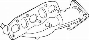 Infiniti Ex35 Exhaust Manifold  Engine  Cover  Intake