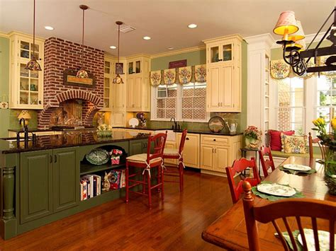 country kitchen painting ideas design ideas on country kitchens