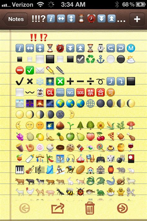 how to get emojis on iphone 4 how to get new 2012 emoji icons on iphone projectfibro