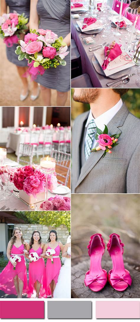 country wedding colors wedding colors trends for 2017 pink yarrow color