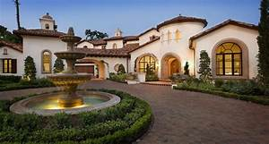 Lake Conroe Spanish The Spanish style influence makes