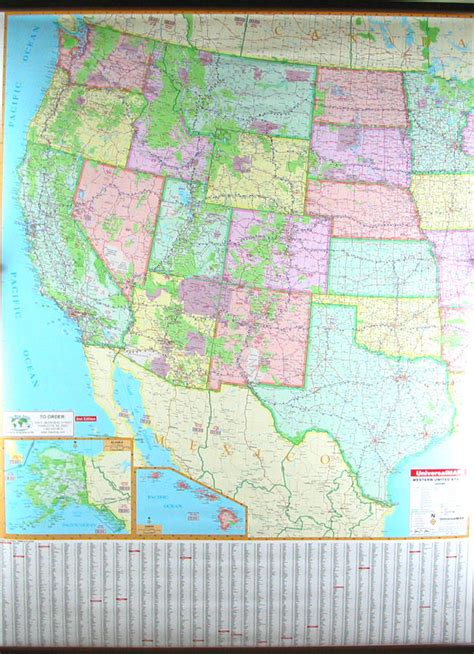 Western Usa Road Map Road Map Of Western Us Western United - Road map of western us states
