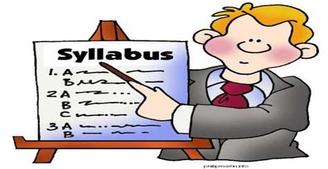 importance    syllabus start school