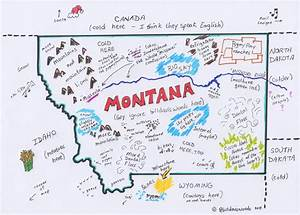 Maps Update #33782498: Montana Travel Map – Printable ...