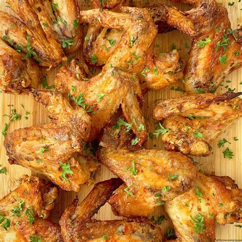 fryer air chicken wings carb low keto marinated paleo whole30 slow recipe cooker crispy