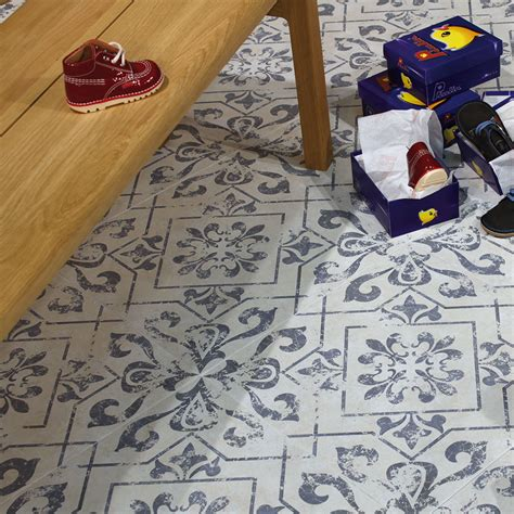 vintage floor tiles for create a summery kitchen with moroccan tiles walls and 8832