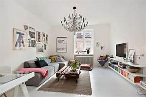 Salon Design Scandinave : meuble design dans un s jour scandinave design feria ~ Preciouscoupons.com Idées de Décoration